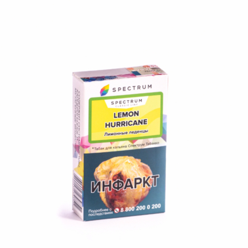 купить Табак Spectrum - Lemon Hurricane 40г оптом