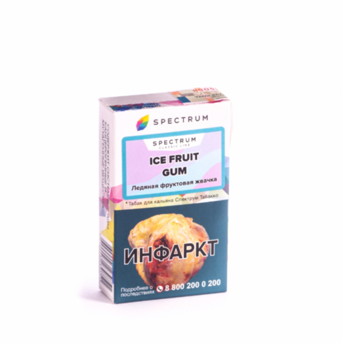 купить Табак Spectrum - Ice Fruit Gum 40г оптом